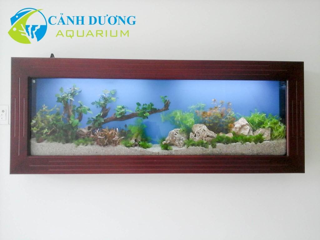Hồ cá treo tường 76