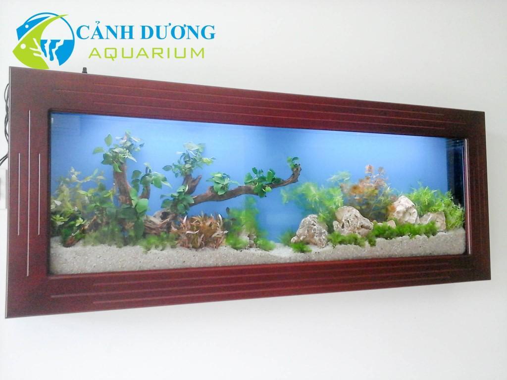 Hồ cá treo tường 77