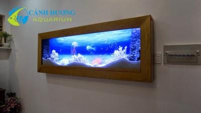 Hồ cá treo tường 11